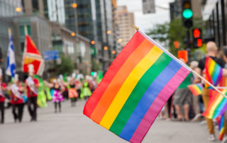 beginnings-treatment-centers-lgbt-drug-addiction-image-of-gay-flag-at-gay-pride-parade