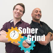 Beginnings Sober Grind Podcast Image