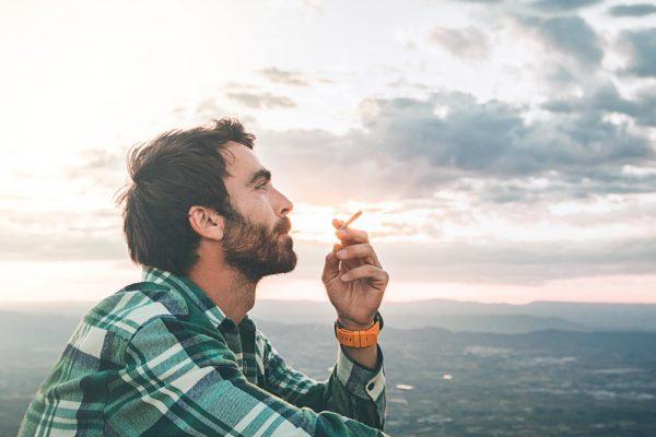 beginningstreatment-Marijuana-addiction-photo of a man smoking marijuana