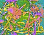 beginningstreatment-a-complete-history-of-mushrooms-photo-of-magic-mushroom-rainbow-tone-digital