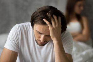 beginningstreatment stress-and-addiction photo of a close-upset-desperate-man-thinking