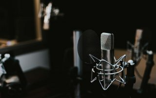 beginningstreatment-The-Best-Addiction-Recovery-Podcasts-photo-of-a-Condenser-microphone-in-a-studio