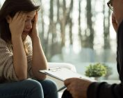 beginningstreatment-how-to-cope-with-divorce-during-rehab-or-recovery-photo-of-a-glum-girl-during-psychotherapy